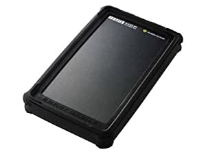I-O DATA USB 2.0/1.1対応 ポータブルハードディスク 120GB ブラック 耐衝撃シリコンジャケット HDP-U120S(K)