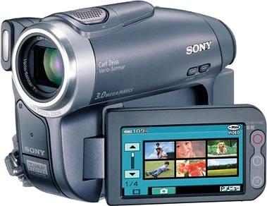 ソニー SONY DCR-DVD403 H デジタルビデオカメラ(DVD方式)