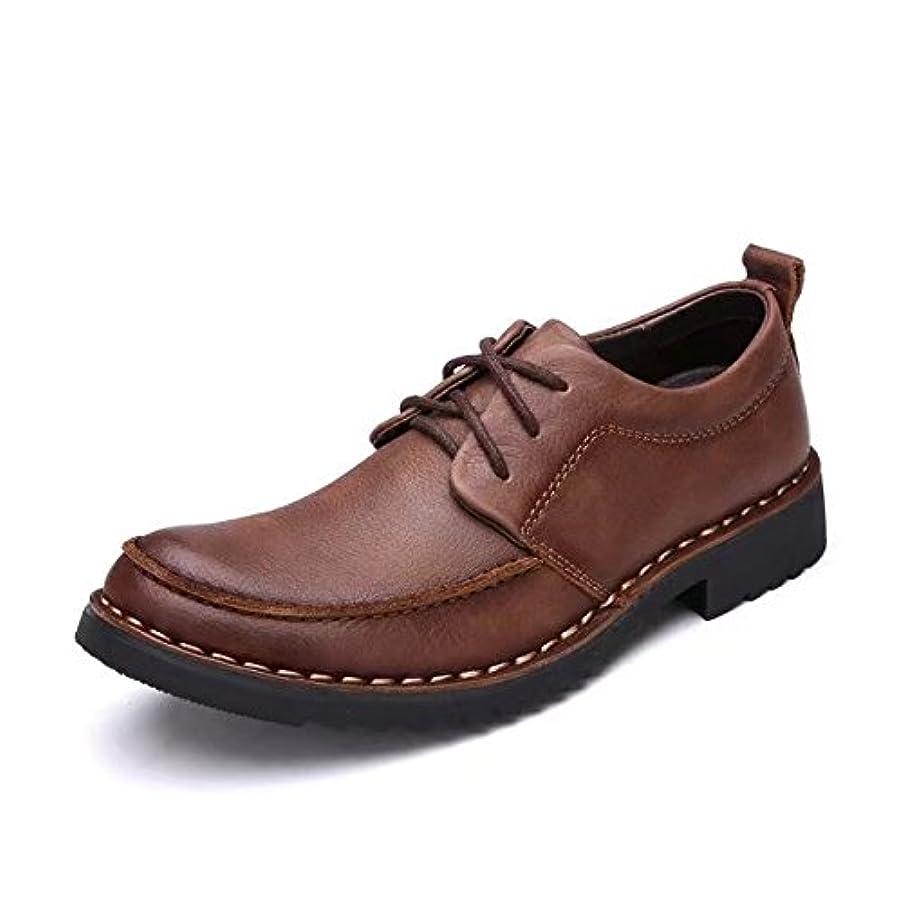 ハンドブックどちらか放射するAmazingJP カジュアルシューズ ワークブーツ メンズ 靴 黒 ブラウン 革靴 シューズ ビジネス レースアップ 防水 防滑 ローカット