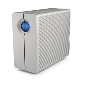LaCie HDD 外付けハードディスク 8TB RAID対応 Mac対応 2BigQuadra LCH-2BQ080Q3