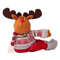 クリスマスカーテンバックル クリスマスの装飾 サンタクロース 窓装飾 クリスマスプレゼント EN4436