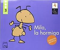 Bichitos, Mila la hormiga, Educación Infantil, 4 años. 3 trimestre