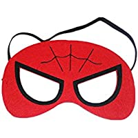 スパイダーマンMarvel Comic CartoonキッズコスチュームFeltマスクbyスーパーヒーローブランド