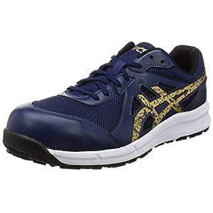 [アシックスワーキング] 安全/作業靴 作業靴 ウィンジョブ インディゴブルー/ゴールド 26.5 cm