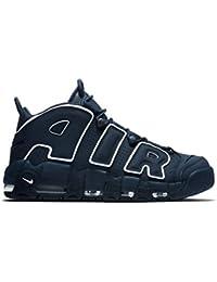 nike ナイキ メンズサイズ(24.0-32.0cm) NIKE AIR MORE UPTEMPO(ネイビー) モアテン アップテンポ スニーカー 靴 (9.5(27.5cm)) [並行輸入品]