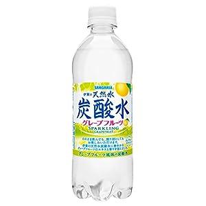 サンガリア 伊賀の天然水炭酸水 グレープフルーツ 500ml×24本