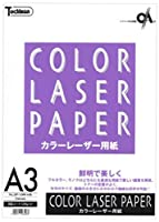 (まとめ買い)十千万 カラーレーザ用紙 LBP-128M-A3B A3 50枚 【×5セット】