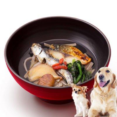 犬用おせち料理『年越しそば(犬 おせち 2018)』天然素材の老犬・アレルギーにも対応の犬のお節料理(犬用 年越しそば)