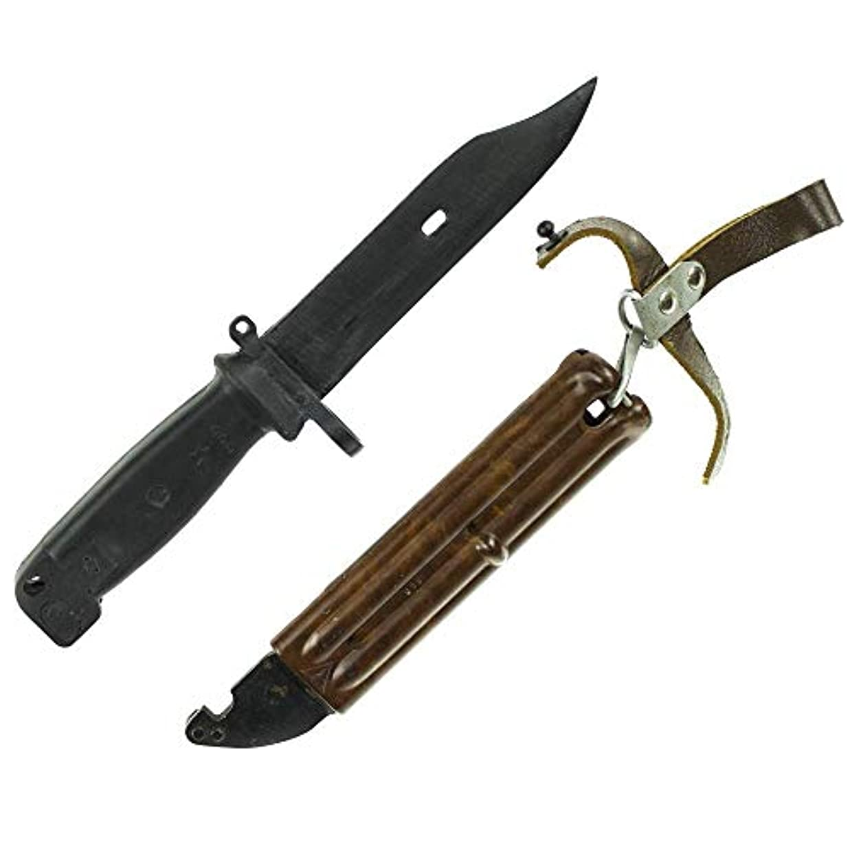 文法敏感なビュッフェロシア軍 トレーニングナイフ ShN 6×4 レプリカ ケース付き プラスチック製