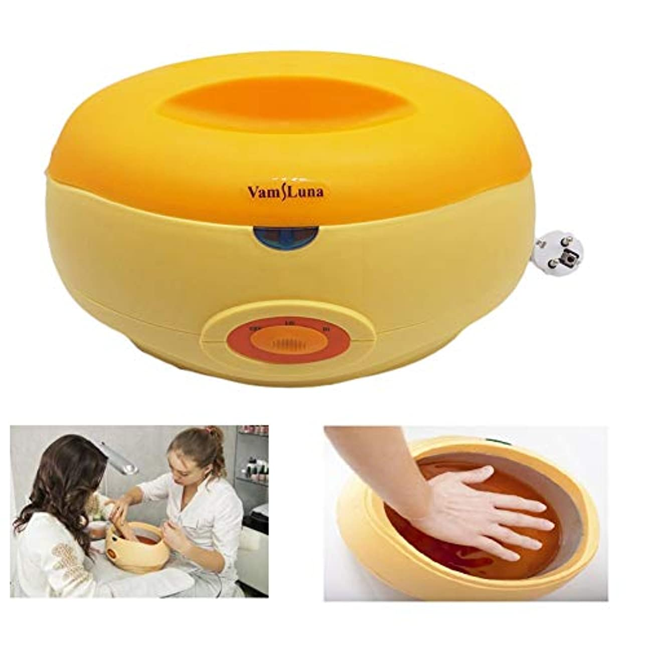 ルアー足音平和的パラフィンワックスウォーマーポット2200 ML熱パラフィン浴熱療法顔、手、足&脱毛