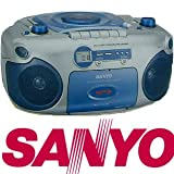 Sanyo MX-780 Portable Stereo CD/CD-R/CD-RW Radio Cassette Recorder with CD/MP3 by Sanyo