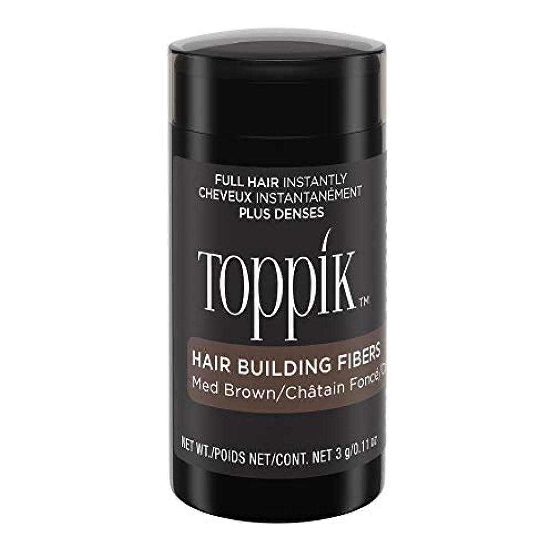スーパー密輸毛布TOPPIK 髪のビル繊維、0.11オンス 0.11オンス ミディアムブラウン