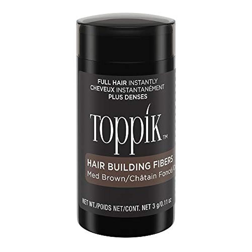 失業にはまって掘るTOPPIK 髪のビル繊維、0.11オンス 0.11オンス ミディアムブラウン