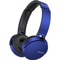 SonyプレミアムBluetoothワイヤレス軽量Extra Bassステレオヘッドフォン