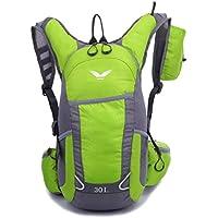 サイクリングバッグ 20L 超軽量 ハイドレーションバッグ 自転車バックパック 登山リュック リュック ハイドレーションバッグ ランニング 給水 マラソン 通気性