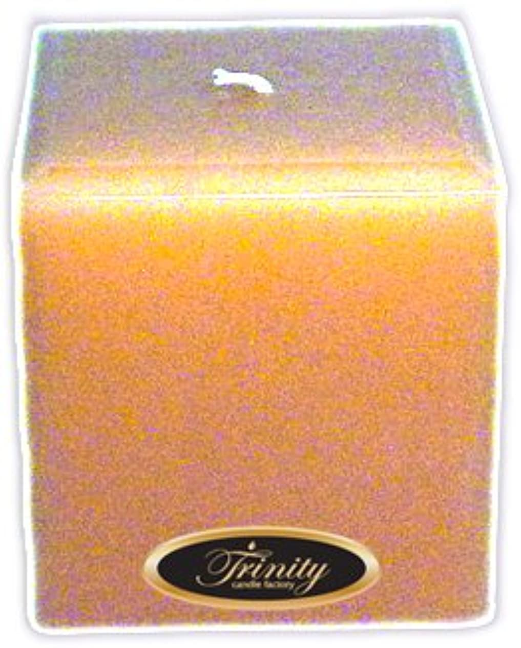 後世悲劇浸食Trinity Candle工場 – Cedar Wood – Pillar Candle – 正方形 – 4 x 4