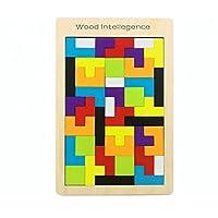 SONONIA パズル おもちゃ  木製 テトリス  頭の体操 ゲーム 子供 知育玩具 ギフト カラフル