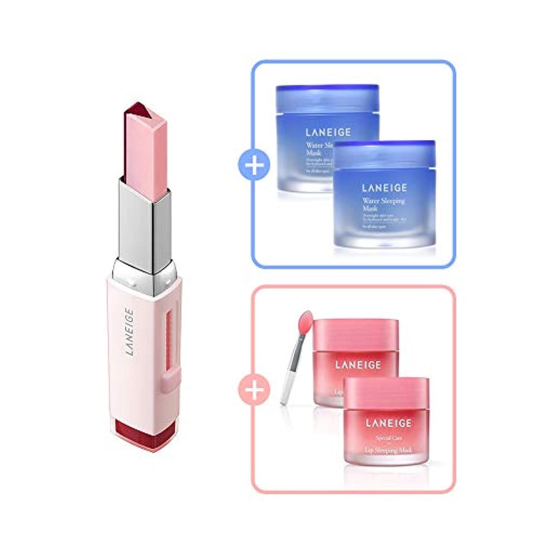 パフ先入観焼くTwo Tone Tint Lip Bar 2g (No.8 Cherry Milk)/ツートーン ティント バー 2g (No.8 チェリー ミルク) [数量限定!人気商品のサンプルプレゼント!]