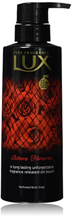 かび臭いクラウド軍団ラックス ボディソープ アドーア フォーエバー ポンプ 350g (官能的な余韻、スカーレットローズ&ダークベリーの香り)