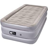 Sable エアーベッド シングルサイズ (203×99×厚さ48cm) 電動ポンプ内蔵 空気ベッド エアーマット 高反発 宿泊客 お昼寝 コンパクト スペース活用 SA-HF010