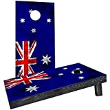 Custom Cornhole Boards CCB1197-2x4-C Worn National (Australia) Flag Cornhole Boards [並行輸入品]