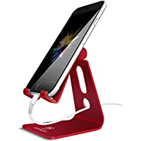 スマホ スタンド ホルダー 角度調整可能, Lomicall 携帯電話スタンド : 充電スタンド, Nintendo Switch 対応, アイフォン, iPhone XS XS Max XR X 8 7 7plus 6 6s 6plus 5 5s, Sony Xperia, Nexusに対応