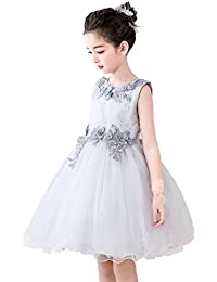 01f2bceb322a9 Amazon.co.jp  シルバー - フォーマル   ガールズ  服&ファッション小物