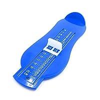 [surper lady] 足の測定器 フット測定器 幼児 ベビー 靴 長さ フットメジャー 靴測定器 子供用 長さを測定 ツール (ブルー)