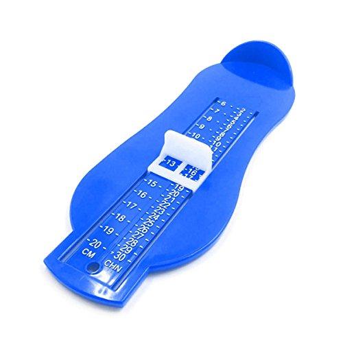 足の測定器 フット測定器 幼児 ベビー 靴 長さ フットメジャー 靴測定器 子供用 長さを測定 ツール (ブルー)