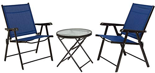 ガーデン テーブル チェア 3点セット ガラステーブル アウ...