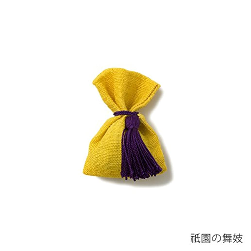 かごチューブ閉じ込める【薫玉堂】 京の香り 香袋 祇園の舞妓