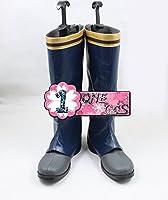 【サイズ選択可】コスプレ靴 ブーツ 13L0891 赤髪の白雪姫 クラリネス王国 ゼン・ウィスタリア・クラリネス 男性26CM