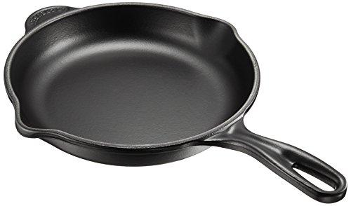 ルクルーゼ スキレット ホーロー フライパン IH 対応 20cm マットブラック 20124-20-00