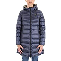 BLAUER Women's 18WBLDK03010005050888 Blue Polyamide Coat