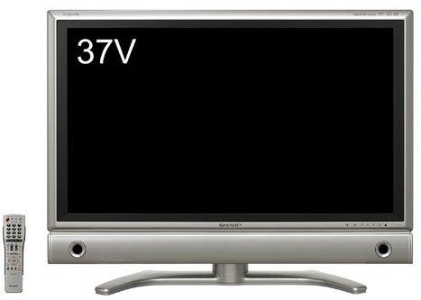 シャープ 37V型 液晶 テレビ AQUOS LC-37GD7 ハイビジョン