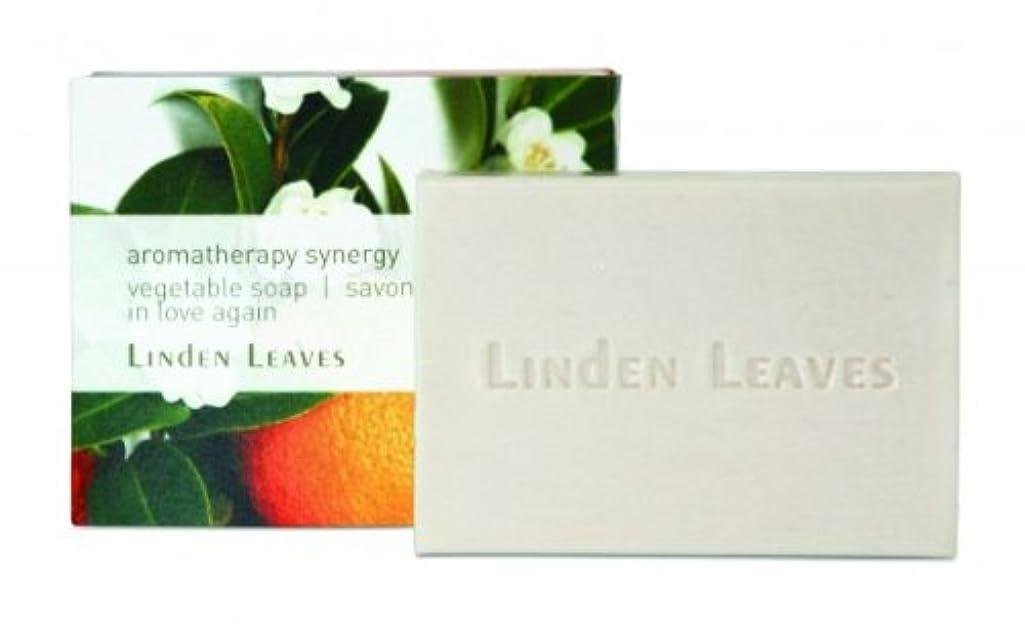 ビルダー音節存在LINDEN LEAVES(リンデンリーブス) ソープ 100g 「インラブアゲイン(バニラ)」 9421001384332