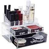 化粧品収納ボックス メイク収納ケース コスメ 収納ボックス 大容量 高透明度 引き出し アクセサリー/化粧品入れ 耐久