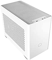 Cooler Master MCB-NR200-WNNN-S00 MasterBox NR200 Mini-ITX Computer Case, White,Without PCI Riser