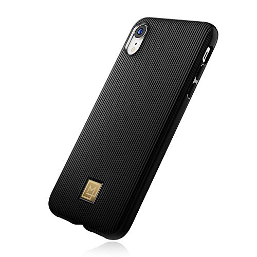 【Spigen x LA MANON】 スマホケース iPhone XR ケース 6.1インチ 対応 TPU 軽量 薄型 光沢 艶 ストライプ ...