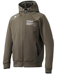 [デサント] トレーニングジャケット はっ水 TOUGHAIR メンズ DMMMJF21 BK 日本 O (日本サイズ2L相当)