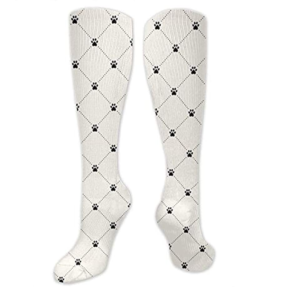 廊下スノーケルカニ靴下,ストッキング,野生のジョーカー,実際,秋の本質,冬必須,サマーウェア&RBXAA Animal Paw Print Socks Women's Winter Cotton Long Tube Socks Cotton...