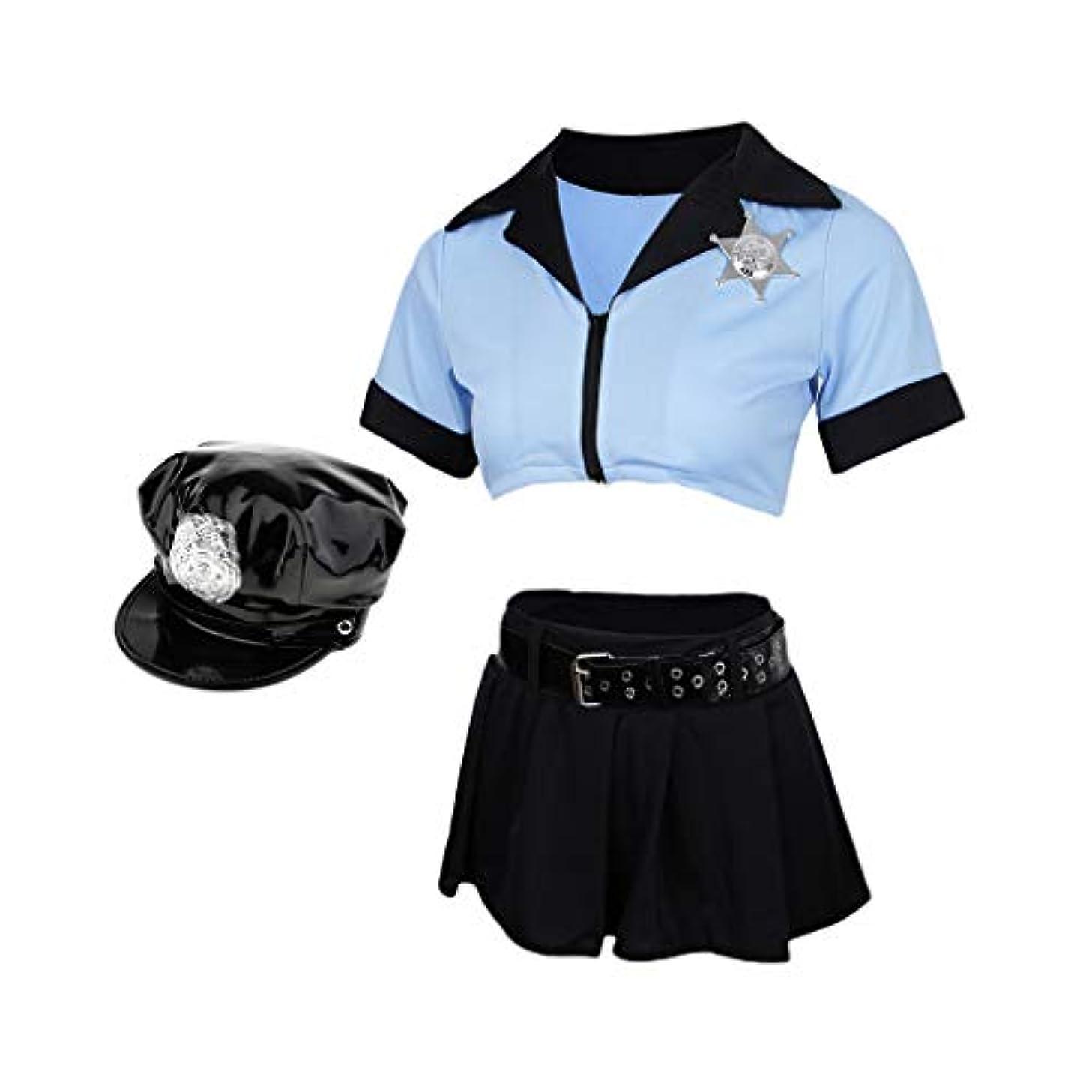 販売計画大工ゼリーD DOLITY レディース 警察官 婦人警官 コスプレ セット 写真 可愛い