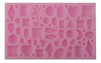 プチジュエリー シリコン型 樹脂粘土 アクセサリー デコパーツに