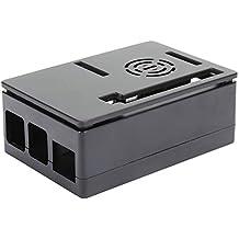 コンピュータマイクロコンピュータ用の便利なマイクロコンピュータ冷却ケース、ボックス4モデルB(Black shell)