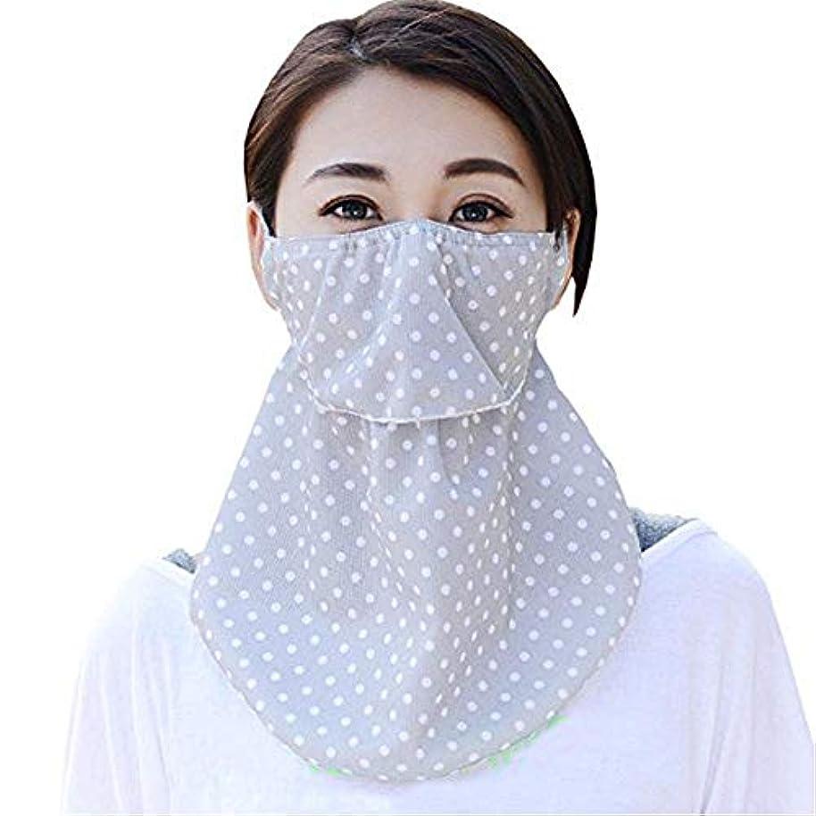 解く準備した純粋なViffly UVカット フェイス カバー ネックガード 鼻部分開口で呼吸しやすい 日焼け防止 イヤーフック付き 冷感