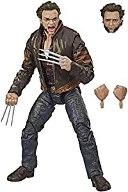 Hasbro Marvel Legends Series X-Men Wolverine 6-inch Collectible Action Figure Toy, Includes 3 Accessories, Age