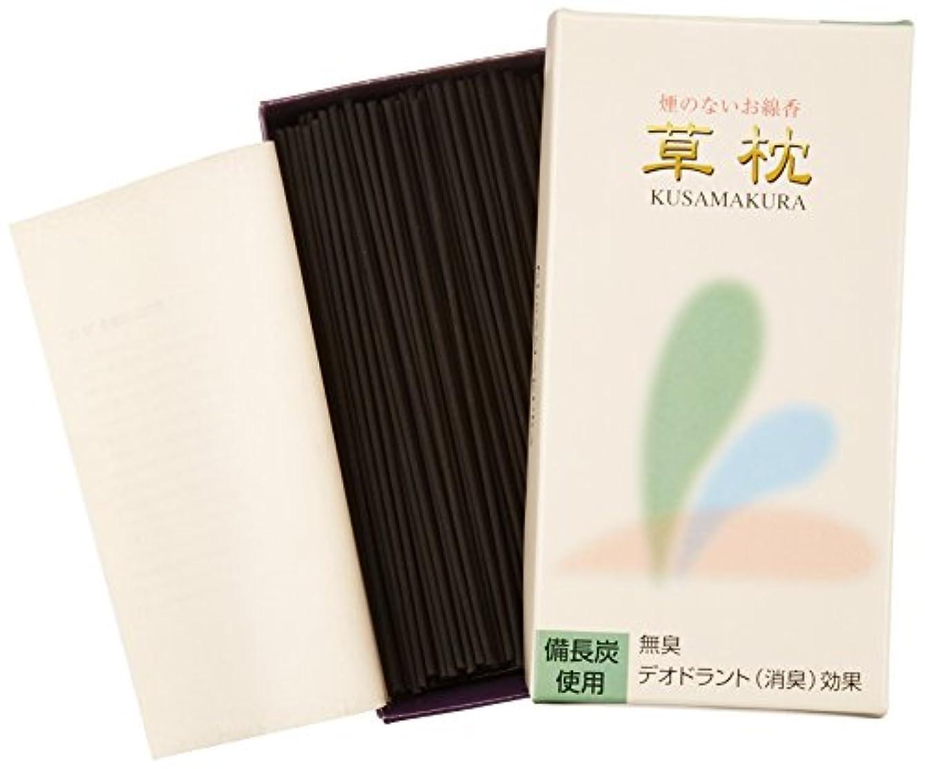 頭収束物語敷島線香 煙の少ないデオドラント草枕 短寸バラ詰 DEO #271