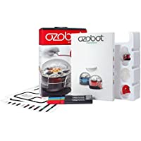 Ozobot Starter Pack, Programmable Robot Toy, Red