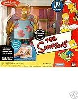 Simpsons Series 6 Kitchen Playset Muumuu Homer Figure By Playmates Toys, Inc. [並行輸入品]