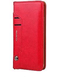 iPhone 7/8 ケース 高級PUレザー INorton おしゃれ iPhone 保護カバー 財布型 本革調 スタンド機能 カード収納 軽量薄型 手帳型カバー 横開き iPhone 7/8対応